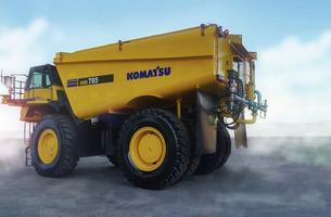 Komatsu MINExpo 2021_Autonomous water truck_image.psd